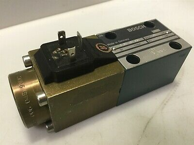 Bosch Hydraulic Valve Assembly 0 811 402 034 w/ Solenoid 0831 006 045 9VDC 2.45A