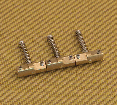 BP-2327-008 Wilkinson Compensated Vintage Telecaster Brass Bridge Saddle Set