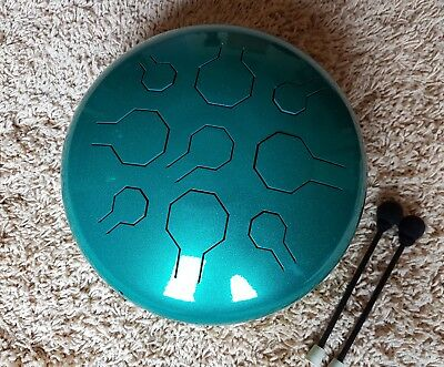 DoubleVibedrum - handpan - steel tongue drum