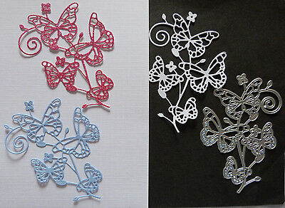 Butterfly Floral Flourish Metal Cutting Die/ Ornate