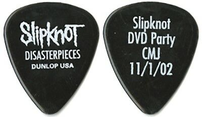 Slipknot authentic 2002 Disasterpieces DVD release collectible band Guitar Pick