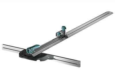 Wolfcraft 4008000 Squadra a T con Cutter Parallelo, Argento