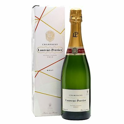 Laurent Perrier Cuvee Brut Champagne 75cl Gift Boxed