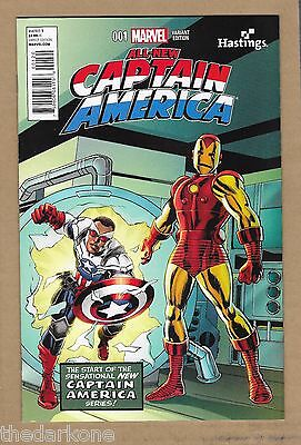 All New Captain America  #1 Hastings   Exclusive   Variant Falcap