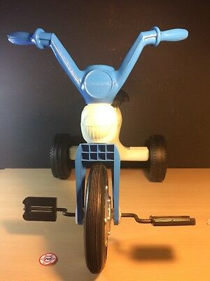 Reliable Made In Canada Tricycle New Old Stock Pedal Plastic Blue White