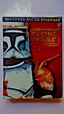 Star Wars: The Clone Wars - The Complete Season One (DVD 4-Disc Set)