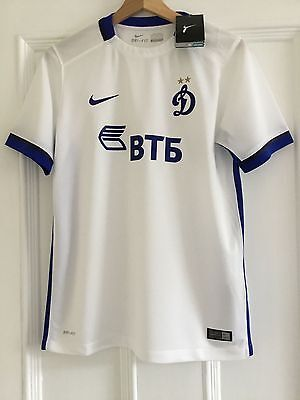 Nike DYNAMO MOSCOW Shirt Size XL Youth age 13-15 yrs. White