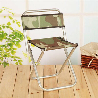 1Pc Fishing Chair Folding Chair Camouflage Stool Oxford Cloth Foldable  Chair