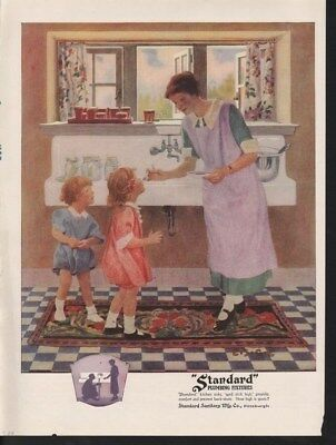 1924 Standard Plumbing Fixture Sink Kitchen Child Home-14818