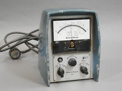 Brown /& Sharpe 599-1025 Roughness Electronic Gage Amplifier Model 1025