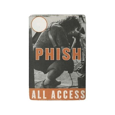 Phish authentic ALL ACCESS 1999 tour Backstage Pass