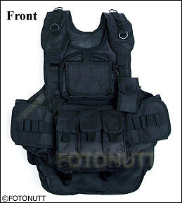 New! Night OPS 4+1 TACTICAL VEST Paintball Harness