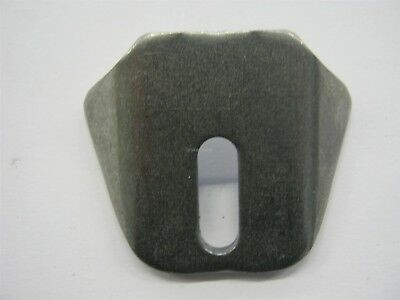 """Body Trick Tabs Slotted 1/4"""" Hole 10 Pack Gussets Mounting tab Mount .130"""" Thick"""