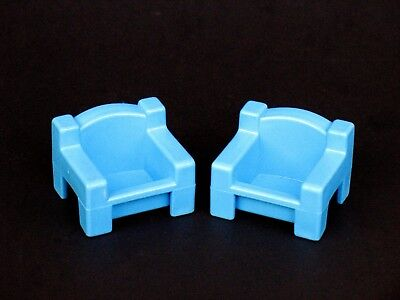 Rare Vintage Hello Kitty Dollhouse CHAIRS by CBS Toys