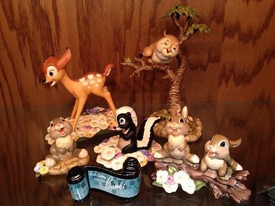 Disney Collector Society - Classics Figurines - Bambi SET.