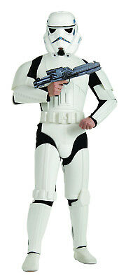 Deluxe Adult Stormtrooper Costume! White Star Wars Classic New