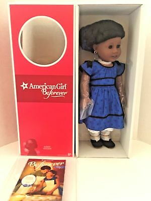 American Girl  Addy Doll & Paperback Book Beforever  NEW in AG Box