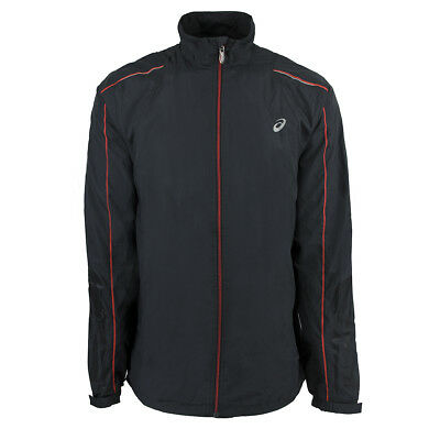 Asics Men's Run Warrior Jacket Dark Grey 3XL