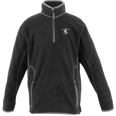 Antigua Youth Michigan State Spartans Ice Long Sleeve Pullover