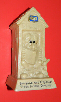 General Telephone and Electronics Memorabilia  GTE Outhouse
