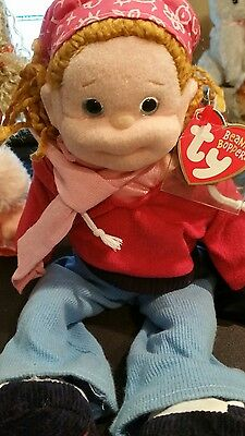 2002 Naughty Natalie The Beanie Bopper 13 In Mint With Tags