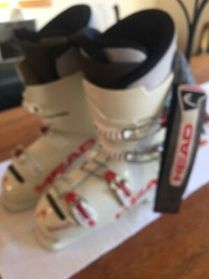 White Head Raptor Ladies Ski Boots.