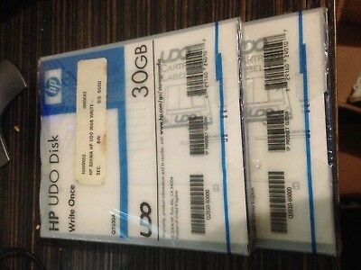 Hewlett Packard HP Q2030A: 30GB WORM UDO Disk. New & Sealed