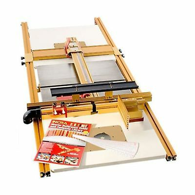 INCRA LS52-TS-WF Ts-Ls Table Saw Fence with Wonderfence and Router System Acc...