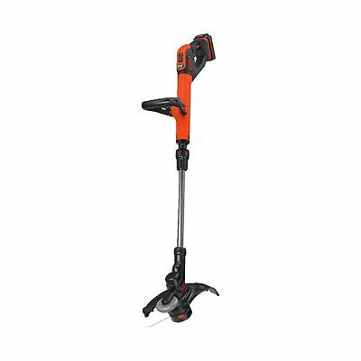 BLACK + DECKER LST522 20V Max Lithium 2-Speed String Trimmer/Edger 12-Inch 12""