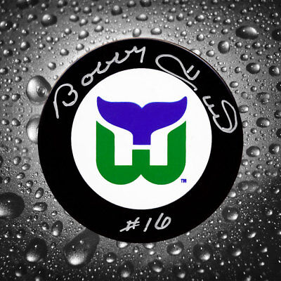 Bobby Hull Hartford Whalers Autographed Puck