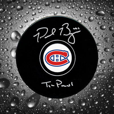 Paul Byron Montreal Canadiens Ti Paul Autographed Puck