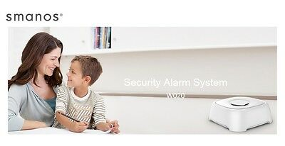 Smanos W020 WiFi Wireless Home Alarm System Office Automation iPhone Galaxy NEW