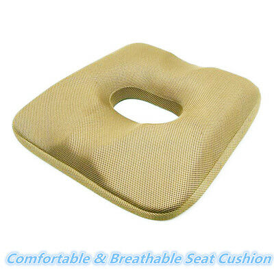 Car Seat Cushion Protector Lower Back Spinal Beauty Hip Hemorrhoids Healthy Mat