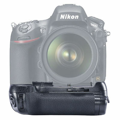 NEW Battery Grip Pack for Nikon D800/D800E D810 Camera EN-EL15 as MB-D12