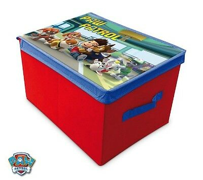 Storage Box Child Disney Paw Patrol Pat Patrouille Red