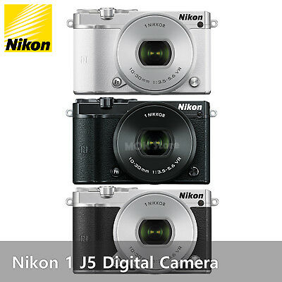 Nikon 1 J5 Mirrorless Digital Camera with 10-30mm F3.5-5.6 PD-ZOOM Lens +