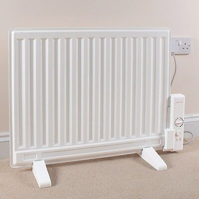 600W Slim Oil Filled Panel Electric Radiator with Adjustable Thermostat