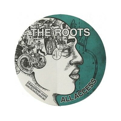 The Roots authentic ALL ACCESS 2000's tour Backstage Pass