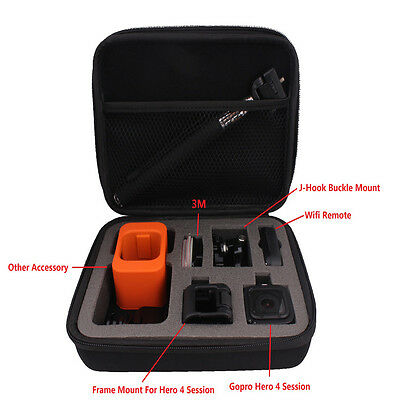 Shockproof Protective Storage Carry Bag Case For GoPro Hero4 5 Session Access
