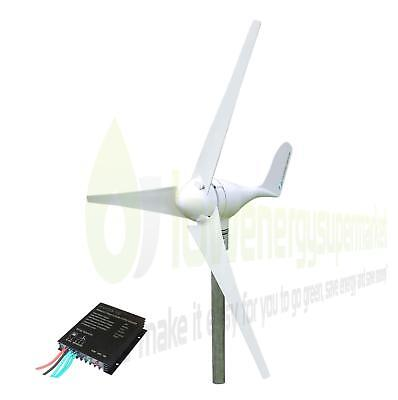 Wind Turbine 300W 24V Generator Kit Boat OffGrid Power Charge Controller UKStock