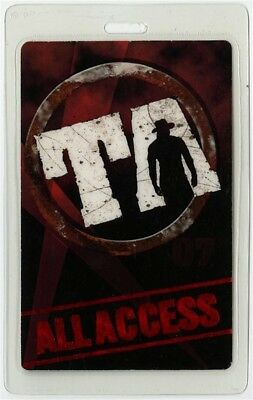 Trace Adkins authentic 2007 concert tour Laminated Backstage Pass ALL ACCESS