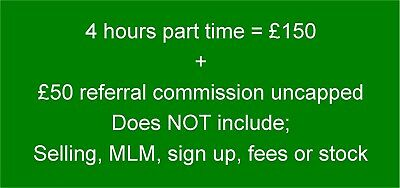 Business opportunity. Earn £50 PP unlimited referral comm + £150 upfront