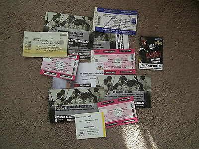 Newcastle Vipers mixed bag of different ice hockey tickets