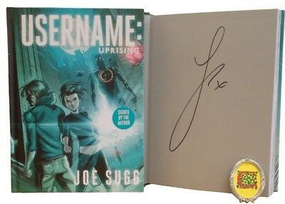 Signed Book - Username: Uprising by Joe Sugg