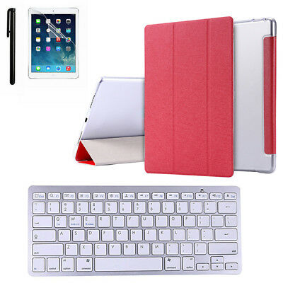Smart Case Cover & Screen Film & Touchpen & Keyboard for iPad Pro 9.7''