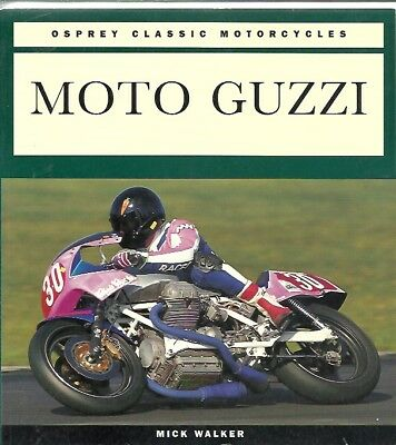 MOTO GUZZI SINGLES VEEs V35 V50 V65 750 850 1000 '21-96  PRODUCTION HISTORY BOOK