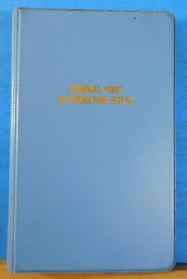 General Code of Operating Rules 1985 Railroad Operation Plastic Binder