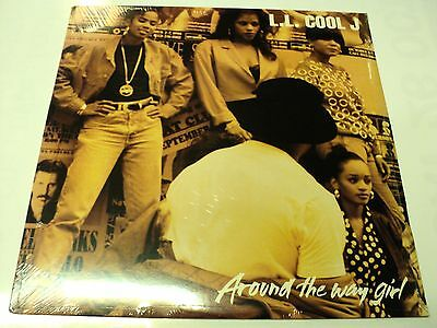"""Ll Cool J Sealed 1990 Usa Vinyl 12"""" Def Jam Around The Way Girl Warehouse Find"""