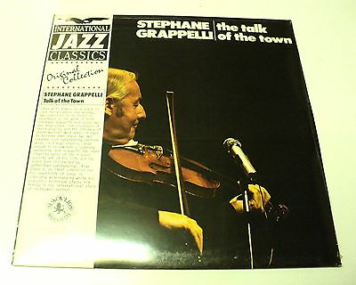 Stephane Grappelli Still Sealed Vinyl Lp Talk Of The Town Warehouse Find Jazz