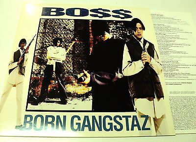 Bo$$ Unplayed 1993 Vinyl Lp Born Gangstaz Def Jam - Warehouse Find !
